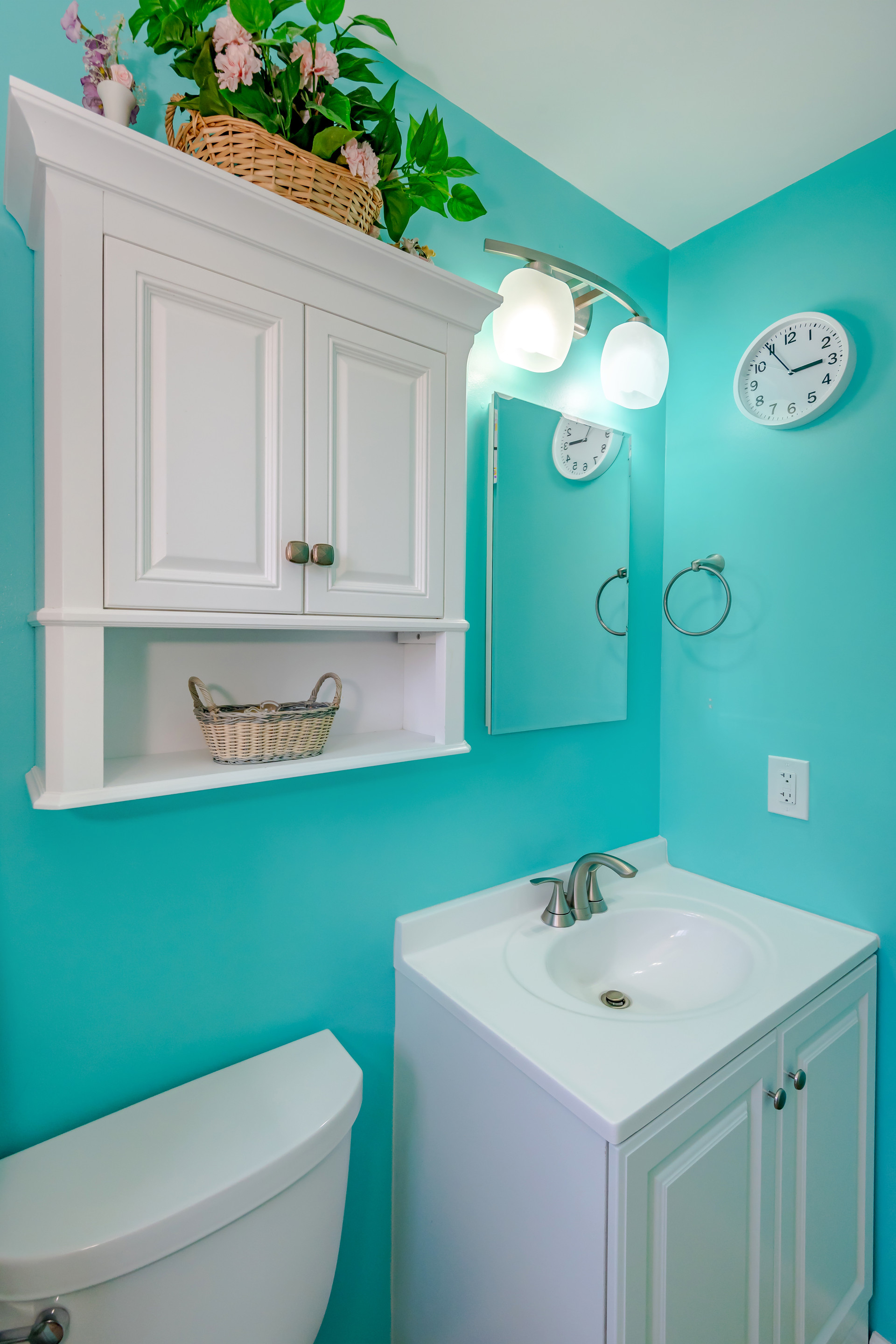 Tropical-Themed Master Bathroom Remodel