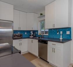 Transitional White Kitchen Remodel