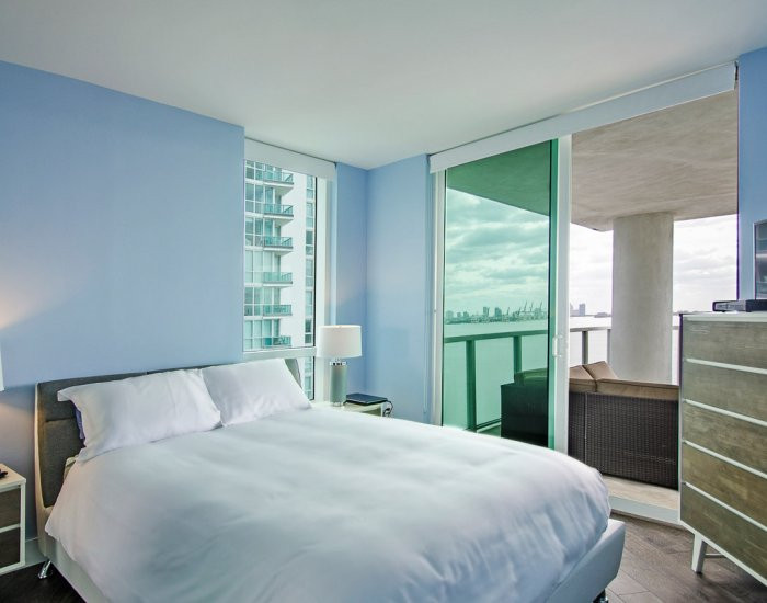 Penthouse Master Bedroom Remodel with Ocean View 2