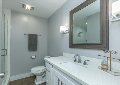 Contemporary Guest Bathroom Remodel 3