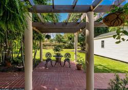 Custom-built, Backyard Pergola Area