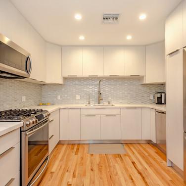 Italian-Finish, All-White Kitchen Remodel 4