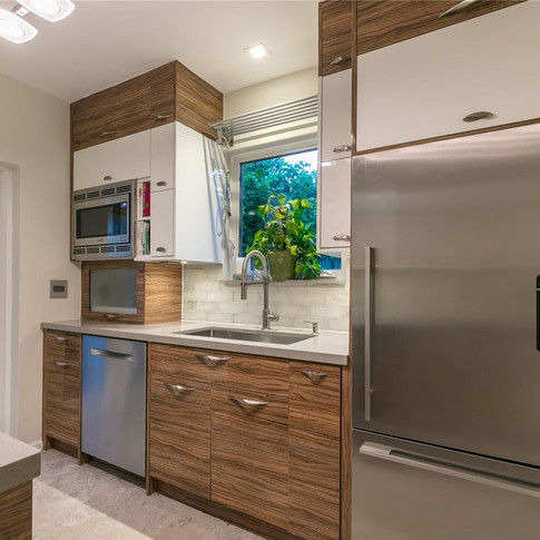 Custom, Italian-Finish Kitchen Remodel Highlighted by a Two-Tone Design & Under-Cabinet Lighting 5