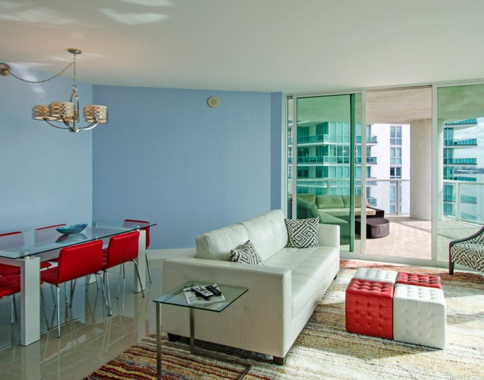 Open-Layout, Brickell Penthouse Remodel with Ocean View 4