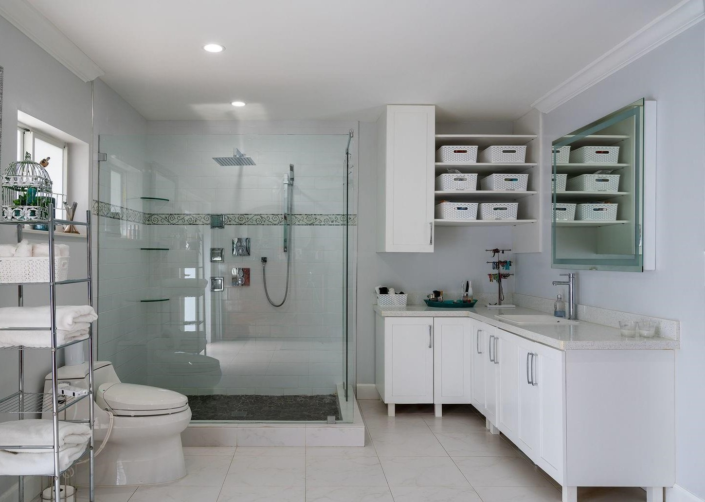 Contemporary Master Bathroom Remodel