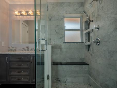 Master Bathroom Remodel - Carrara Marble