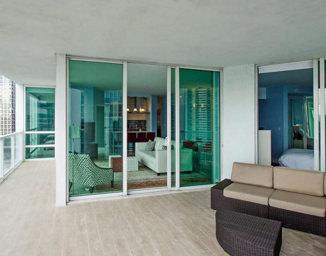 Penthouse Balcony Flooring Remodel