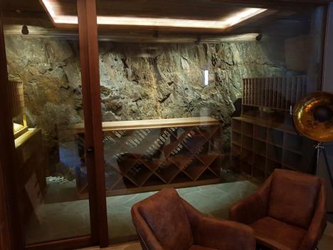 Klasický pasivní sklep Špindlerův mlýn