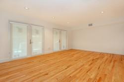 Florida Room Remodel with Wood Floor