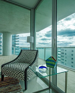 Brickell Penthouse Waterview Balcony