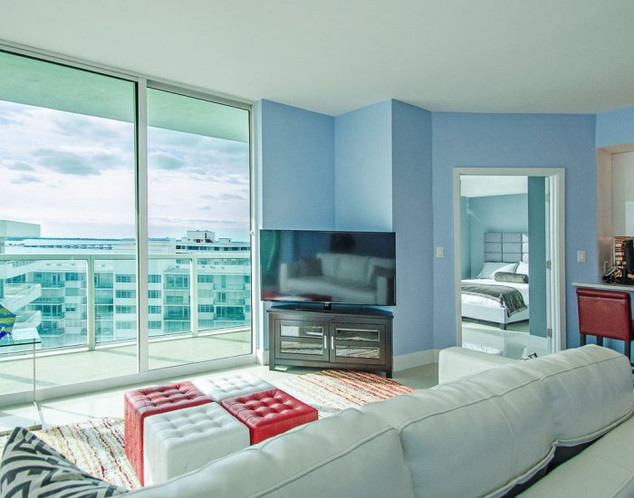 Open-Layout, Brickell Penthouse Remodel with Ocean View 3