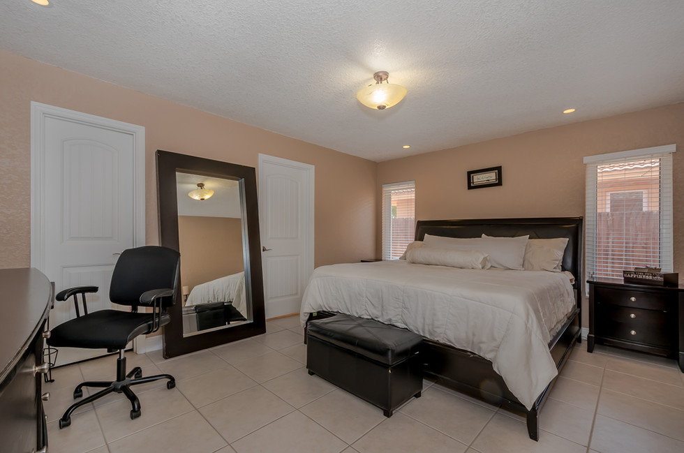 Master Bedroom Suite with Master Bathroom, Walk-In Closet & Recessed LED Lighting