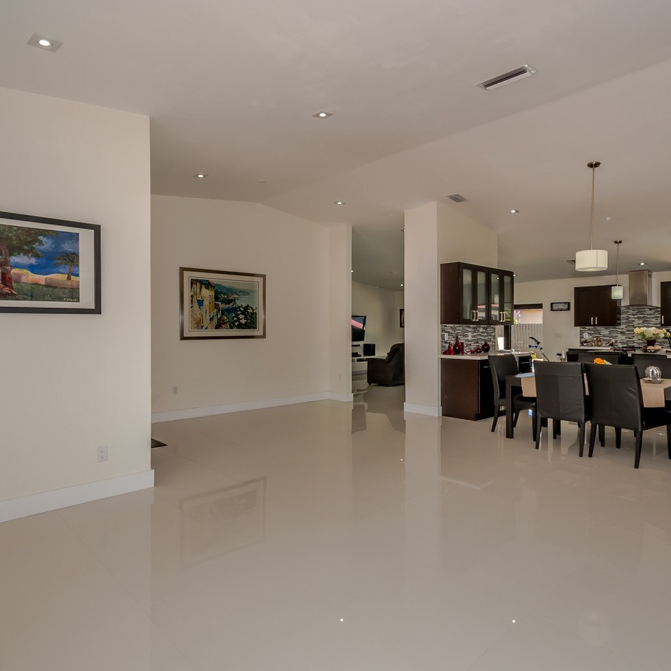 Open Layout Floor Plan Highlighted by Newly Remodeld Kitchen