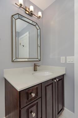 Transitional Guest Bathroom Remodel