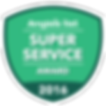 Angie's List 2016 Super Service Award Logo
