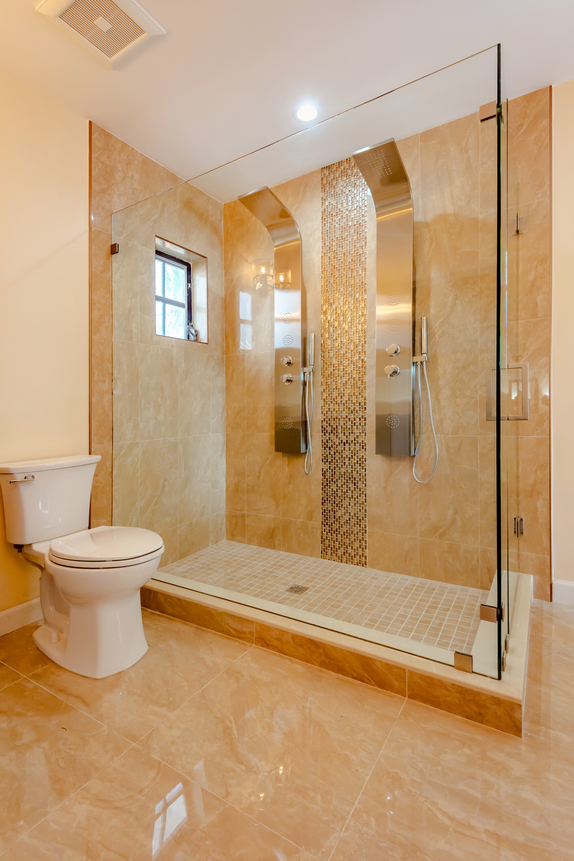 Open-Layout Master Bathroom Remodel