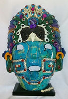 Mascara de Obsidiana