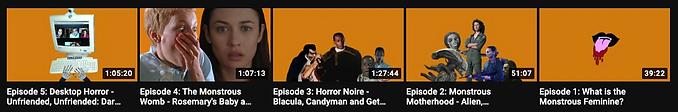 The Monstrous Feminine Podcast YouTube