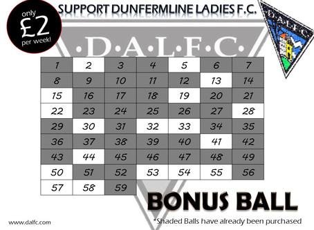 Bonus Balls Still Available