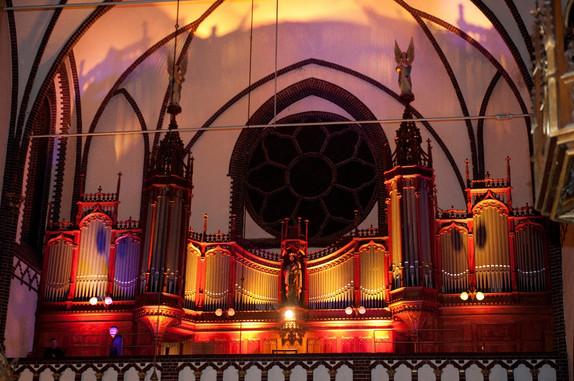 Organy w kościele św. Antoniego