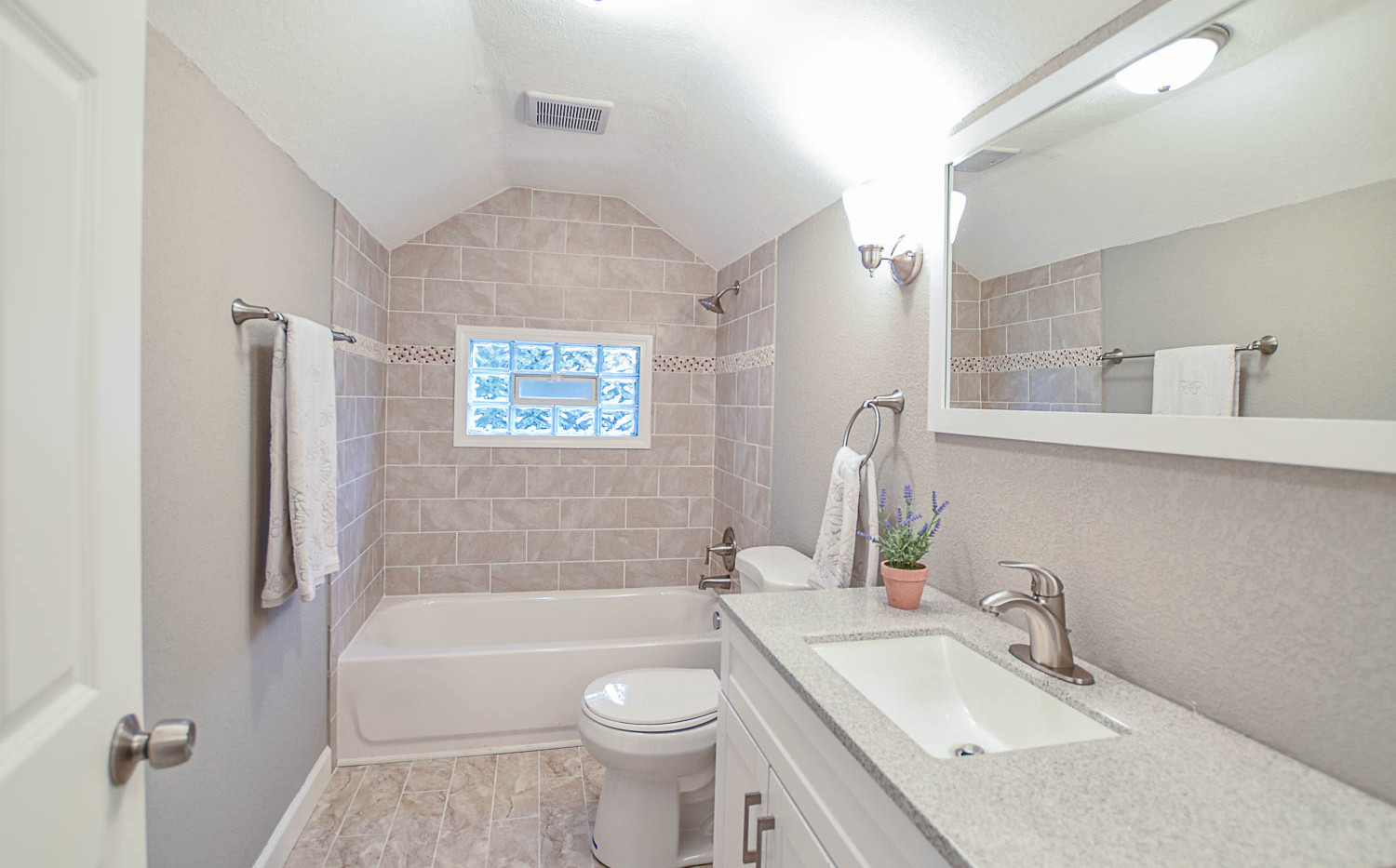 Story and a Half Master Bathroom