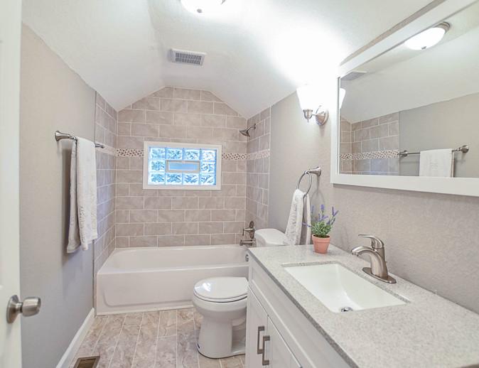 Story and a Half Master Bathroom