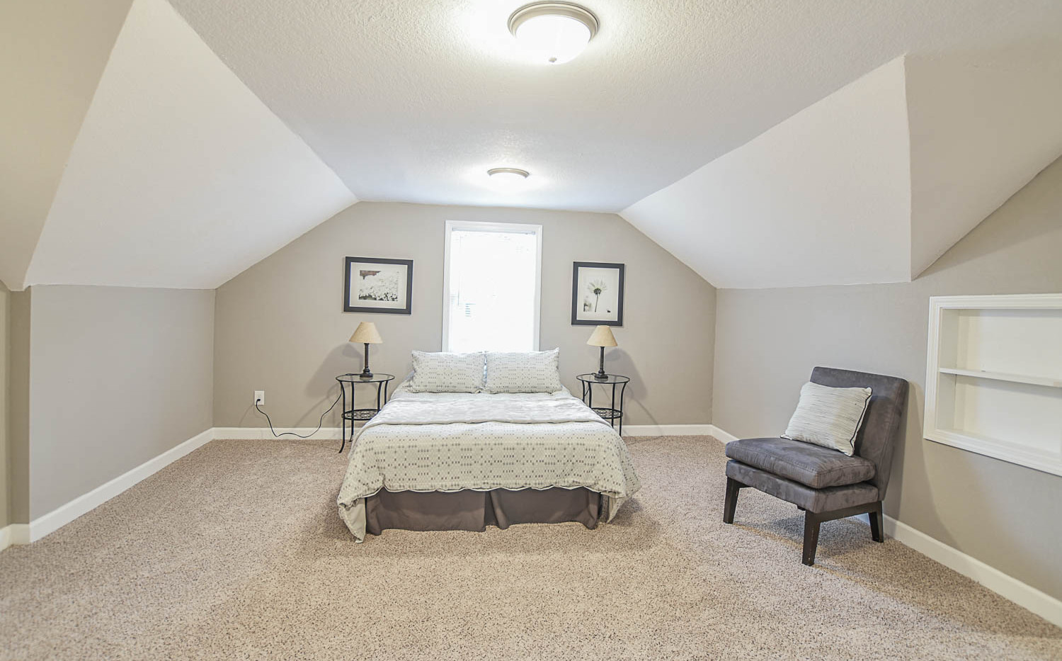 Story and a Half Master Bedroom