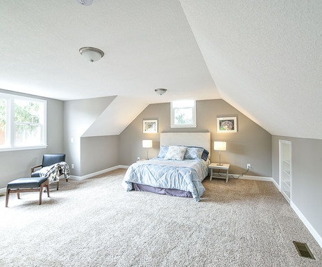 Story and a Half Bedroom