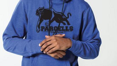 MENS New Era® Tri-Blend Fleece Pullover Hoodie