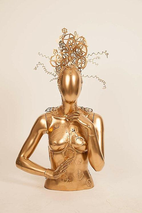 Gold dust revival SculpQture