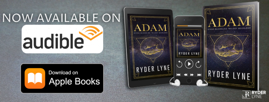 ADAM Available On Audible and Apple