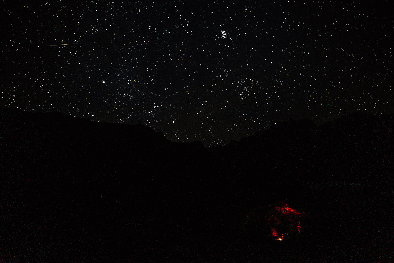 Tipling falls asleep closer to the stars.