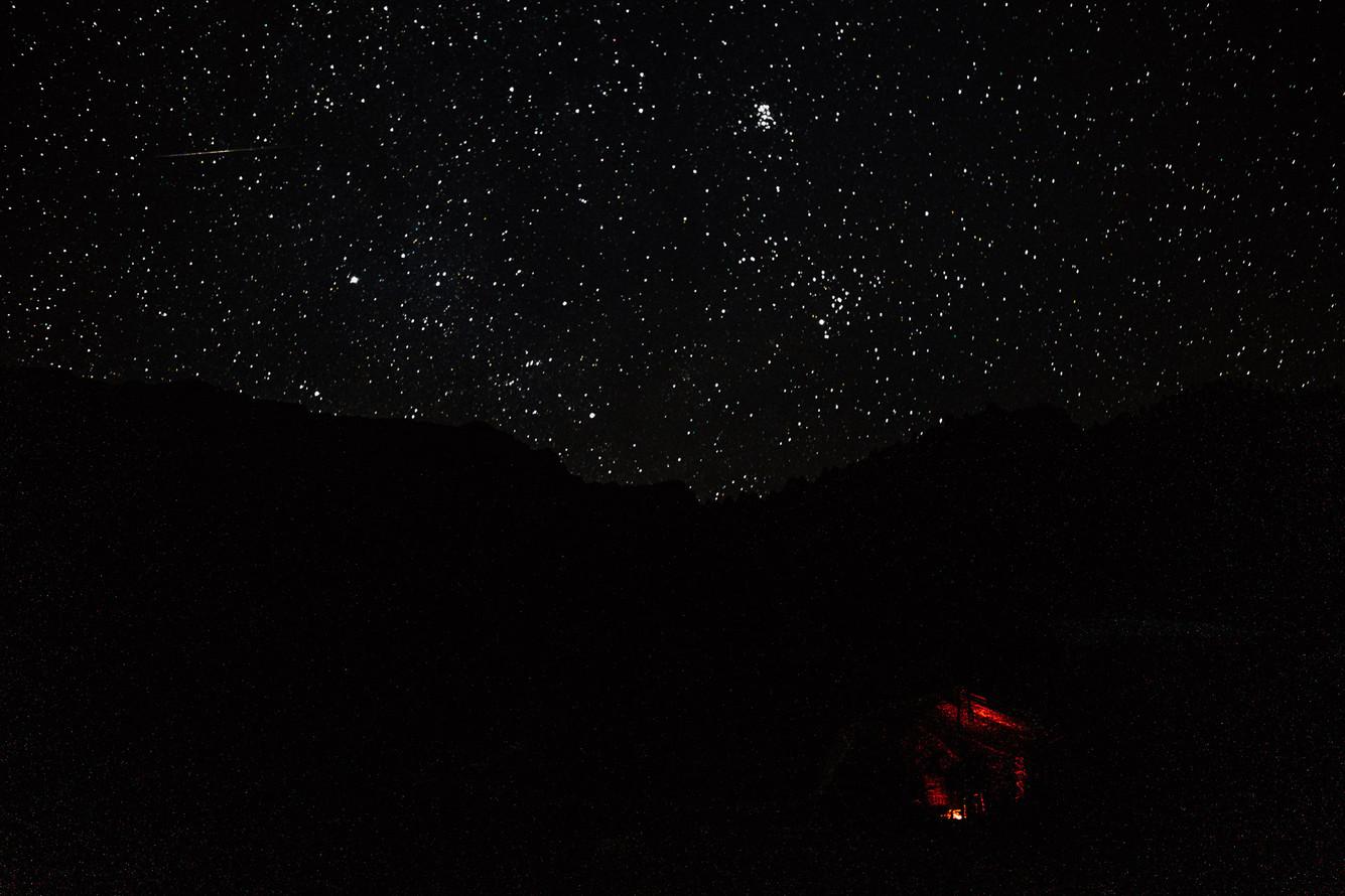 Tipling falls asleep closer to the stars.