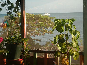 5 View From Restaurant - Bay of Hondurus
