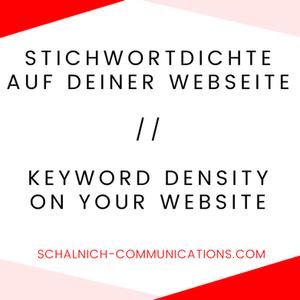 keyword density website