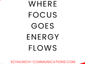 Where focus goes, energy flows! Tips for Digital Marketing Communications - How to be good with less