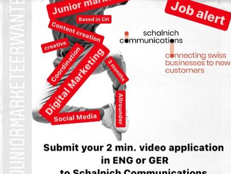 Junior Digital Marketeer wanted!