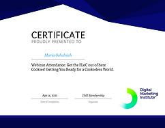 Certificate_FloC update and digital cookies
