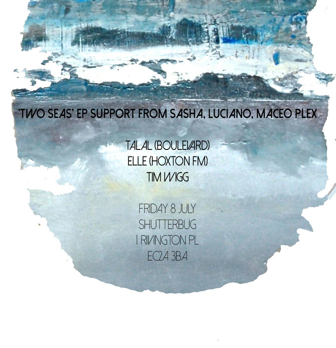 Talal LIVE Techno in Shoreditch | Old Street | 8 July | Two Seas Promo Support From Sasha Maceo Plex