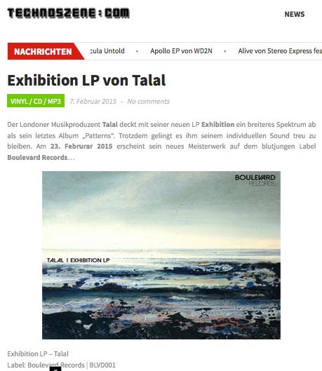 """Exhibition"" LP promo"