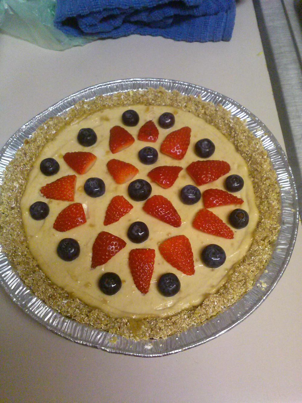 A lovely berry cashew cream pie I made a few weeks back