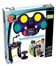 78062 (BILLBOARD) DrumPad with Stool Set