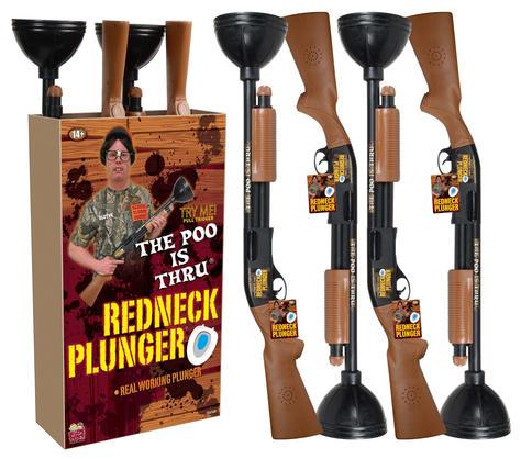 90206-4 Redneck Plunger Display & Hangta