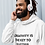 Thumbnail: Creativity is the key men hoodie white