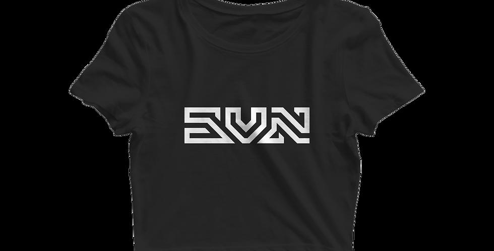SVN cropped shirt black