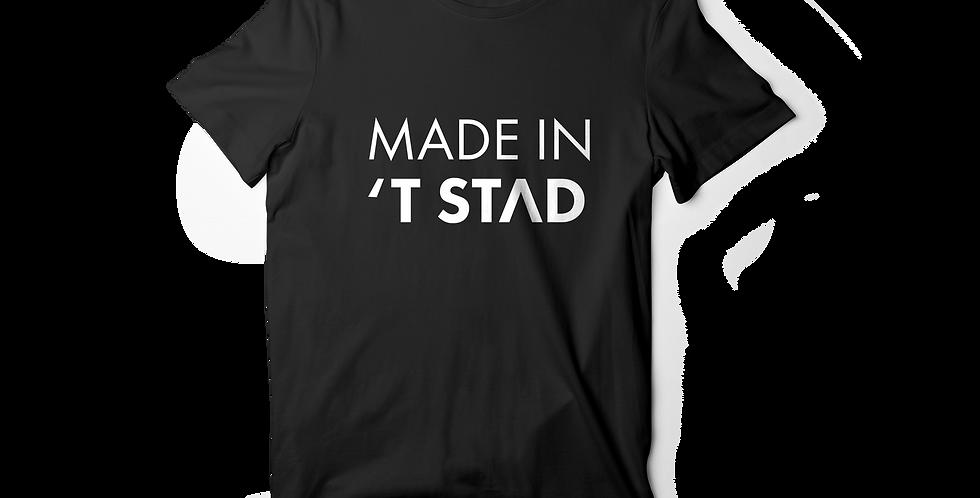 Made in 't stad men shirt black