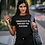 Thumbnail: Creativity is the key women shirt black