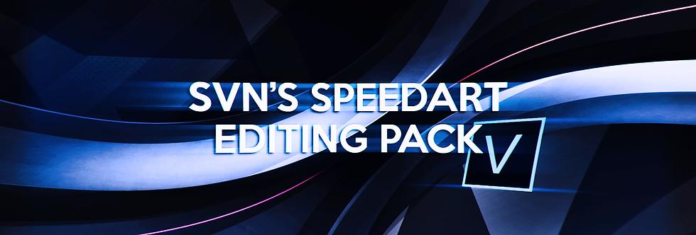 Speedart editing pack
