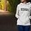 Thumbnail: SVN text women hoodie white