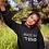 Thumbnail: Made in 't stad women hoodie black